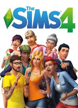 The Sims 4 game cover