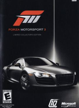 Forza Motorsport 3 game specification